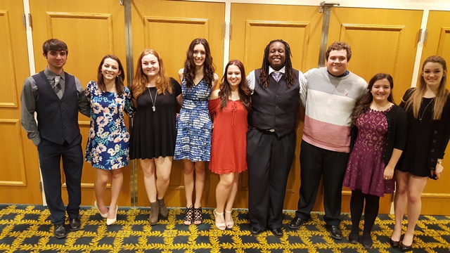 Covington High Talented Music Students Provide Entertainment at Conference